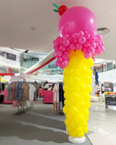 Giant Balloon Ice Cream Decoration