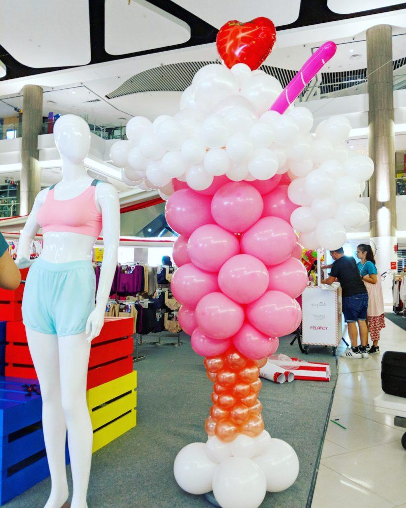 Giant Balloon Milkshake Decoration
