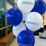 Helium advertsing balloon printing