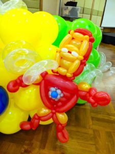 Iron Man Balloon Sculpture