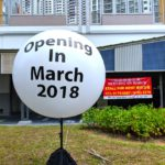 Outdoor Advertising Balloon Stand Display