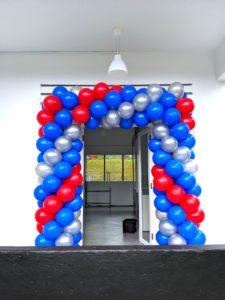 Rectangle Entrance Balloon Arch Singapore