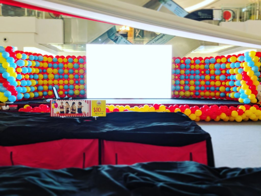 Stage Balloon Backdrop Wall Decoration