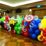 Superhero Balloon Sculpture