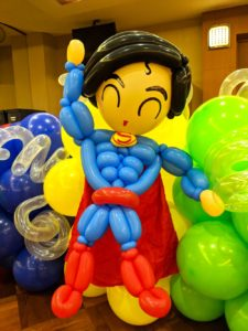 Superman Balloon Sculpture