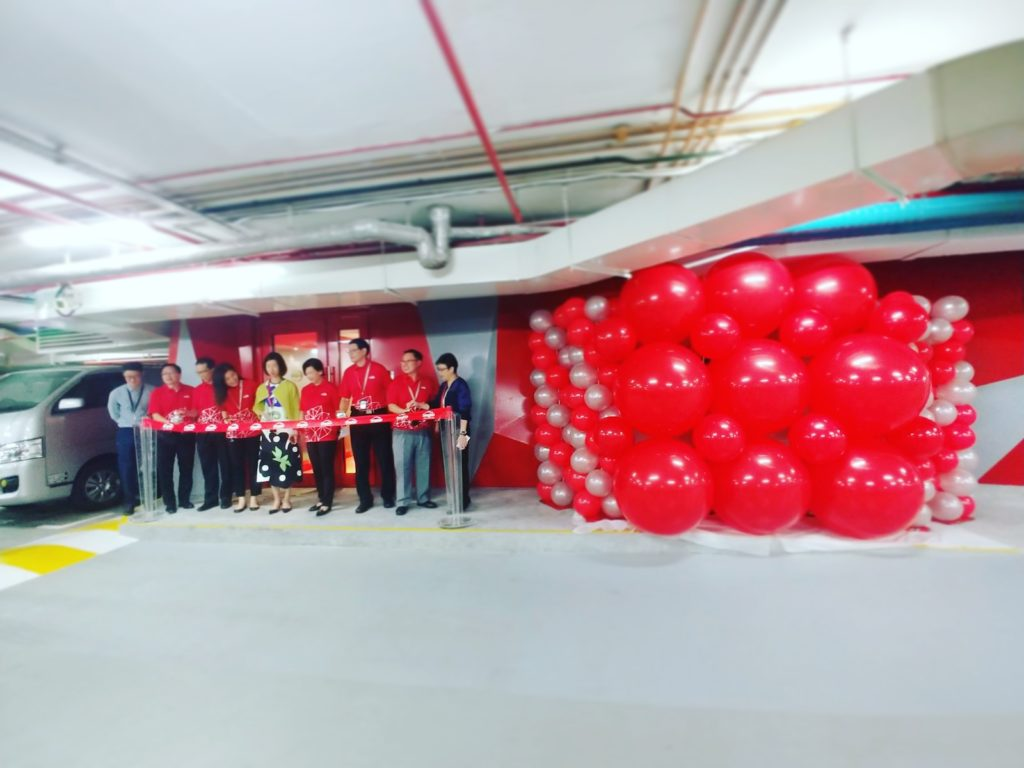 Balloon Explosion Launch Effect Singapore