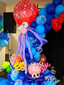 Balloon Octopus Sculptures