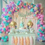Balloon Organic Arch Decoration