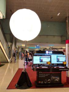 Lighted Balloon Lamp Singapore 1