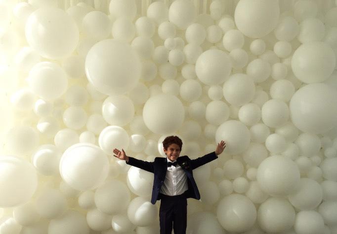 Organic Balloon Backdrop Wall