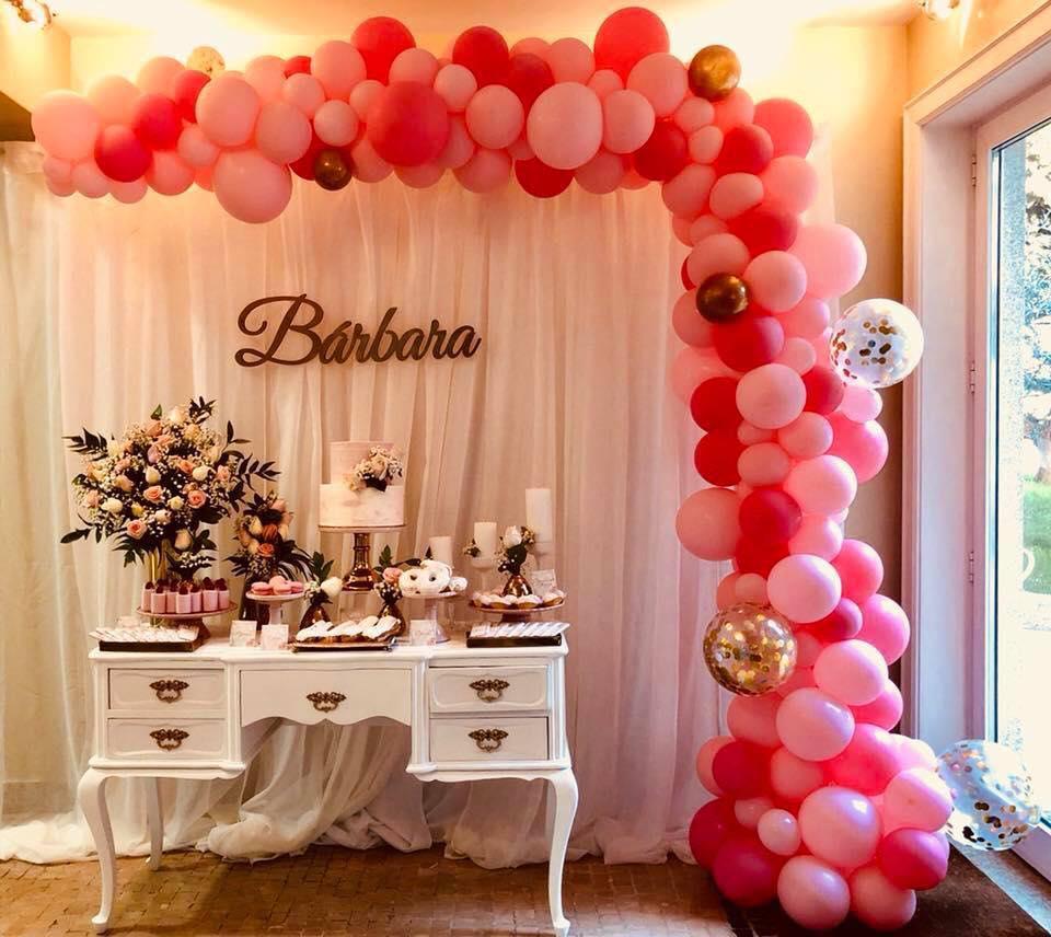 Organic Balloon decor for party
