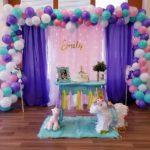Organic Balloon with Backdrop