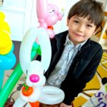 Balloon Bunny Sculpture