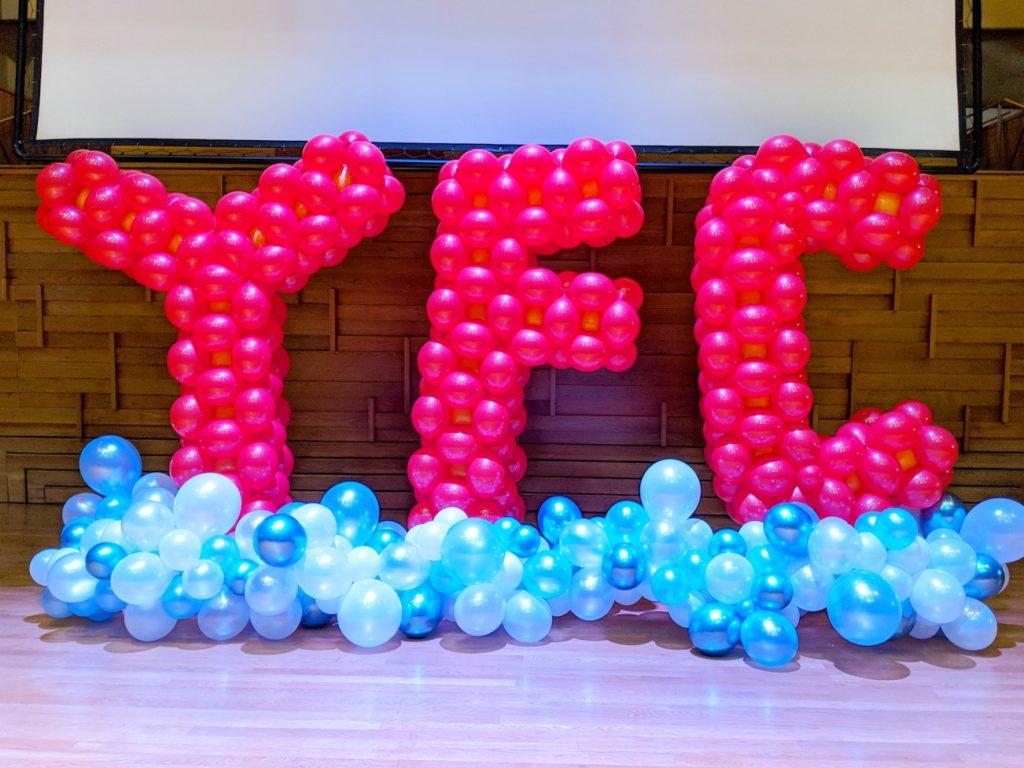 YFC Giant Balloon Alaphabet Decoration