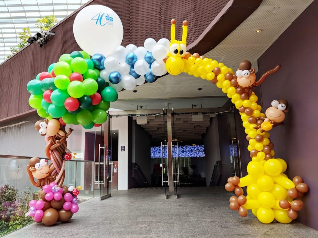 Balloon Amazon Arch Decoration