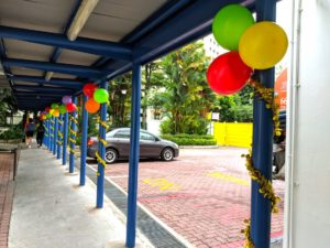 Balloon Decorations for School
