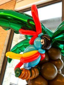 Balloon Parrot Decoration