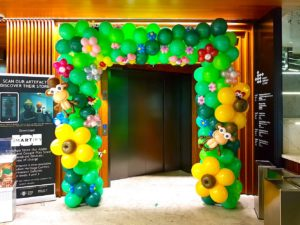 Forest Theme Balloon Arch Decoration