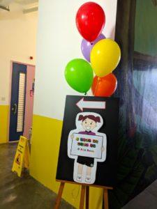 Helium Balloon Bundle decor