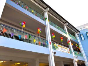 School Balloon Decoration