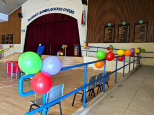School Hall Balloon Decorations