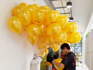Helium Balloons Delivery for Kimly