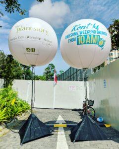 Rent Balloon Signage Singapore