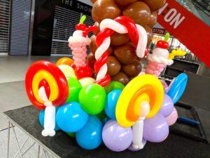 Balloon Candies Sculptures