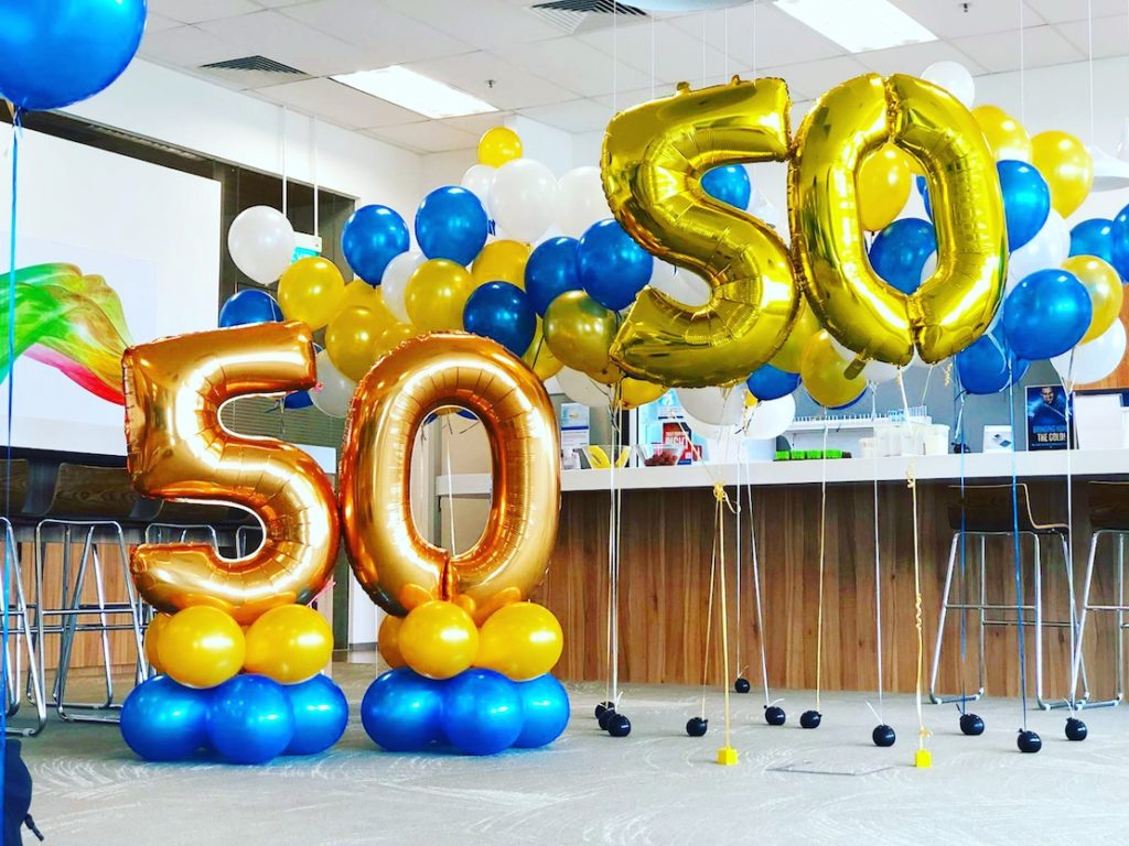 Balloon Decorations for Intel