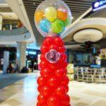 Balloon Gumball Machine Decoration