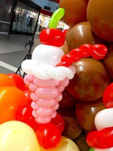Balloon Sundae Sculpture