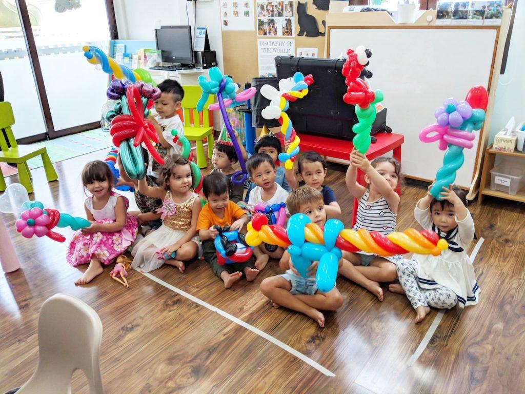 Balloon Twisting Birthday Party Singapore