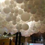 Giagantic Balloon Cloud set up