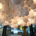 Giant Balloon Cloud National Gallery