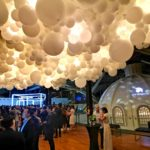 Giant Lighted Balloon Clouds