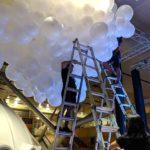 Large Balloon Cloud Set up
