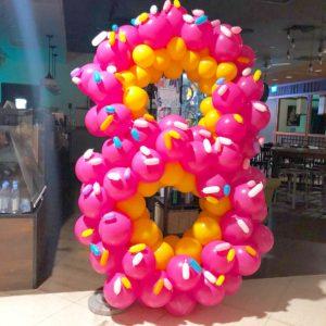 Large Balloon Donut Decorations