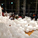 Large Scale Balloon Decoration Set up