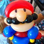 Mario Balloon Sculpture