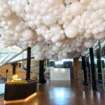 Massive balloon cloud singapore