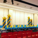 Stage Balloon Decorations for Singapore Airline