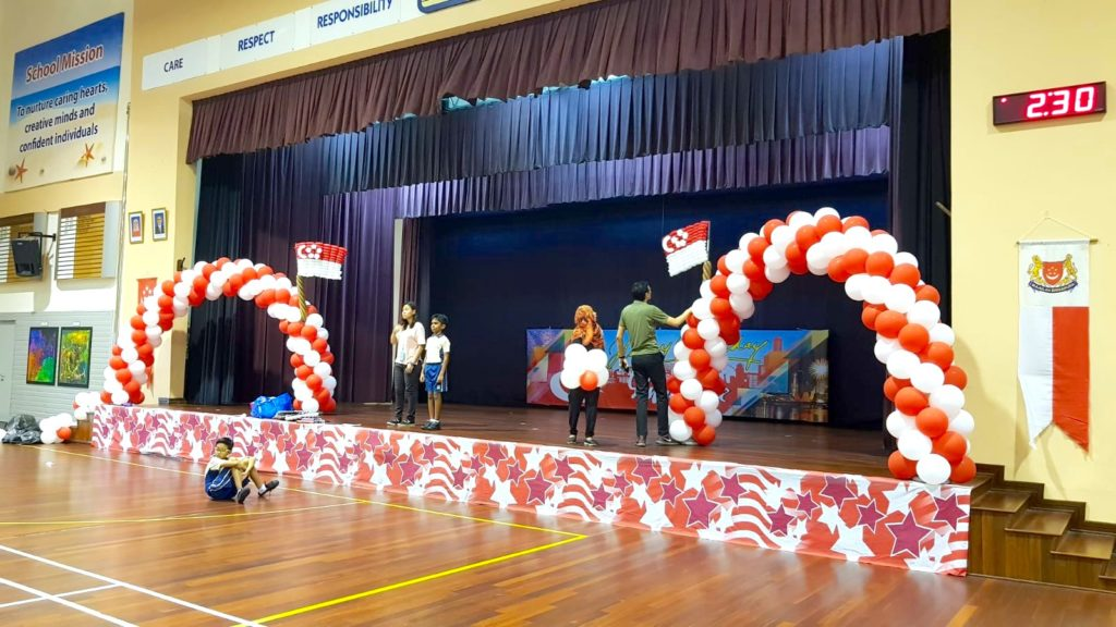 National Day Balloon Arch Decorations