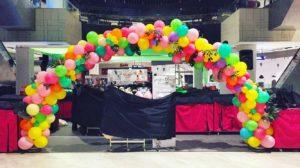Organic Frutti Balloon Arch Singapore