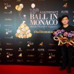 Balloon for Ball in Monaco