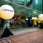 Lighted Giant Balloon for Maybank Singapore