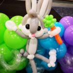 Balloon Buds Bunny Sculpture
