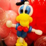Balloon Donald Duck Sculpture