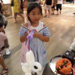 Balloon Lanturn Rabbit Sculpture