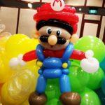 Balloon Mario Sculpture
