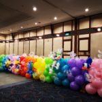 Cartoon Balloon Backdrop